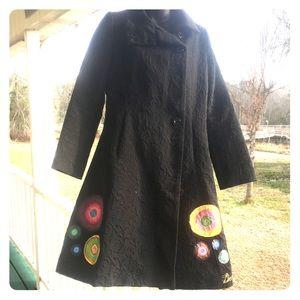 Desigual Jacket Awesome Colors Size 38 Euro/US 6/8
